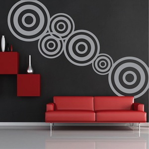 modern design wall decal wall sticker zoom