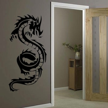 Cool Dragon Wall Decal From Trendy Wall Designs