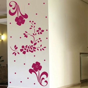 Floral Adornments Wall Decals Wall Decor From Trendy
