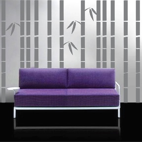 Tall Bamboo Wall Decals. Zoom