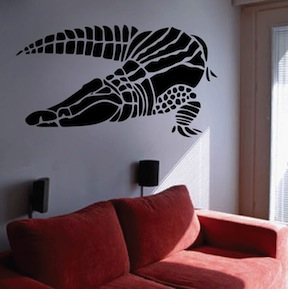 Crocodile Wall Decal Vinyl Wall Decals From Trendy Wall