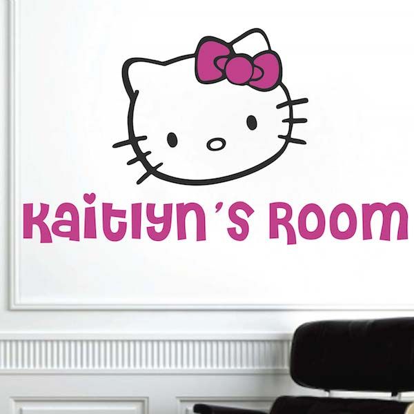 hello kitty wall decal trendy wall designs
