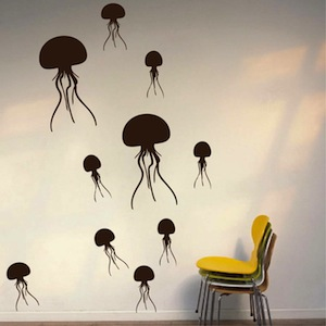 Delicieux Jelly Fish Wall Decals