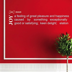 the definition of joy In psychology, happiness is a mental or emotional state of well-being which can be defined by, among others, positive or pleasant emotions ranging from.