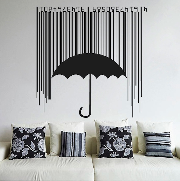 Shieldbrella wall decal cool wall designs from trendy for Cool wall patterns