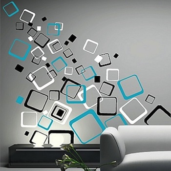 Multiplex Square Wall DecalsTrendy Wall Designs