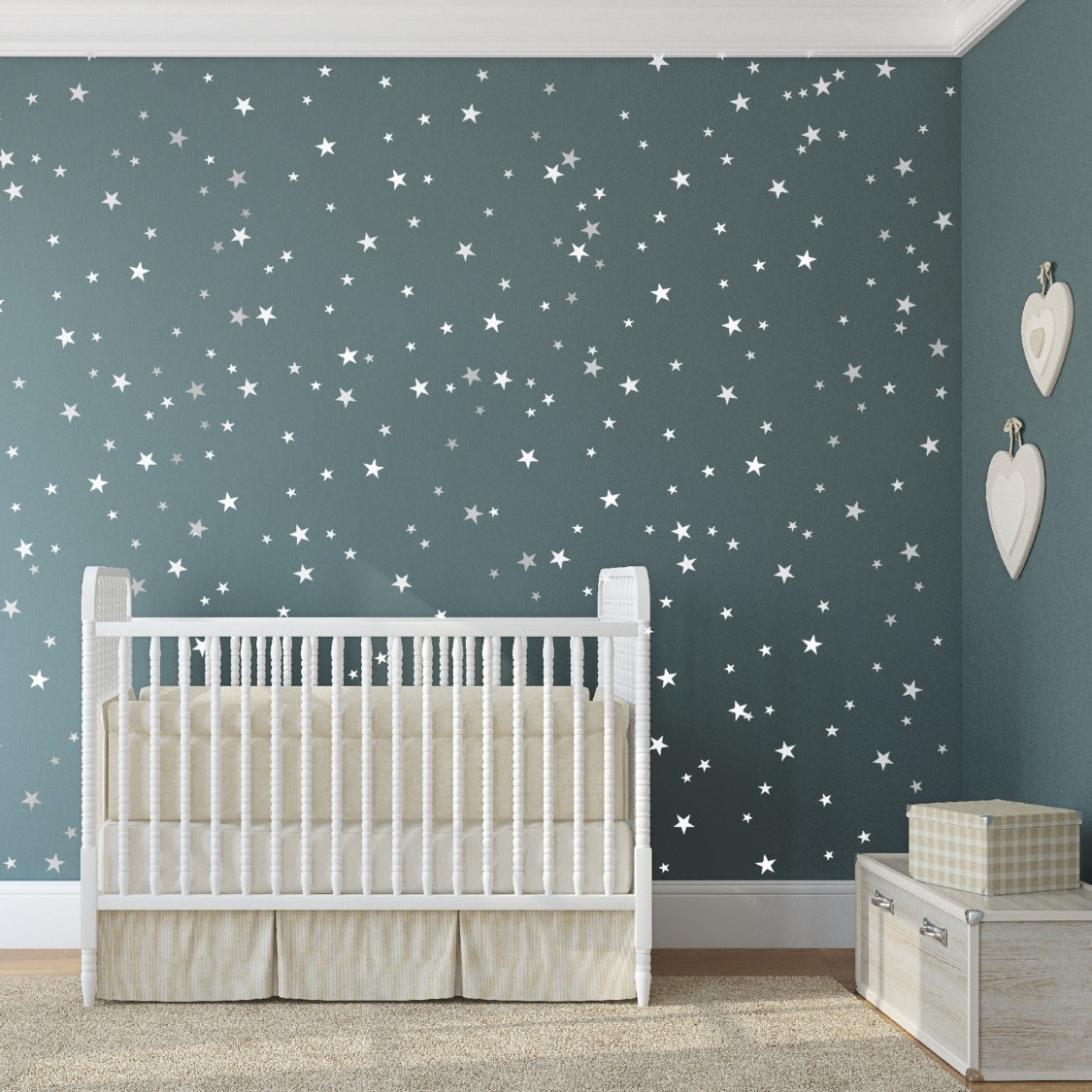 Merveilleux Bedroom Stars Wall Decals. Zoom