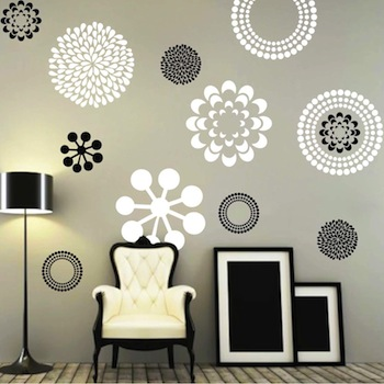 Prettifying Wall Decals - From Trendy Wall Designs