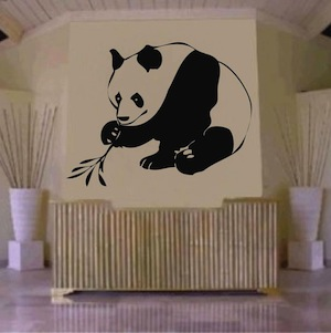 Panda Wall Decal From Trendy Wall Designs