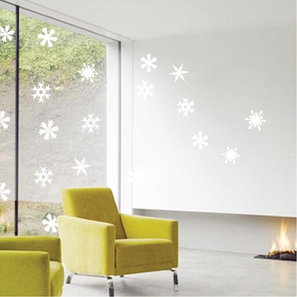 Snowfall Wall Art Decals Trendy Wall Designs