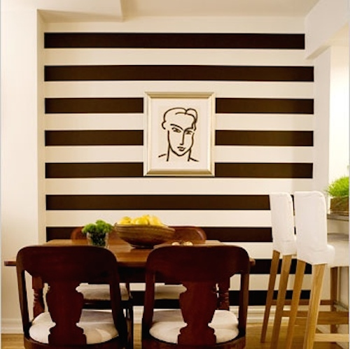 Custom Stripes Wall Decals | Vinyl Wall Decals | Trendy Wall Designs