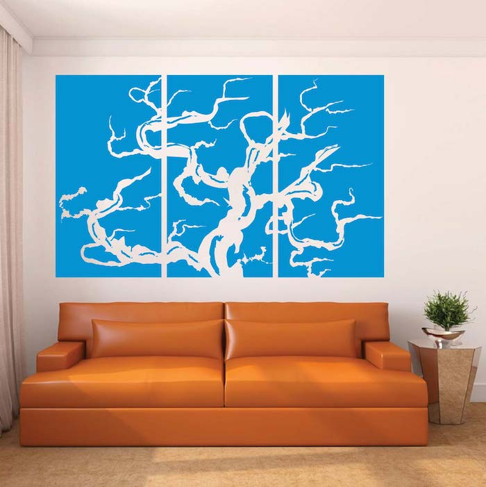 Trendy Wall Art bonsai panel wall art design | trendy wall designs