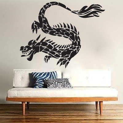TI-Lung Dragon Wall Decal - From Trendy Wall Designs. Trendy Wall Designs - shower wall tile designs