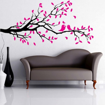 interior branch wall decal zoom - Wall Decals Designs