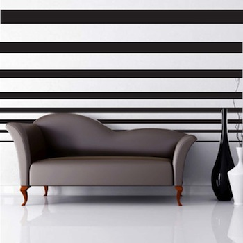 Decreasing Stripes For Walls