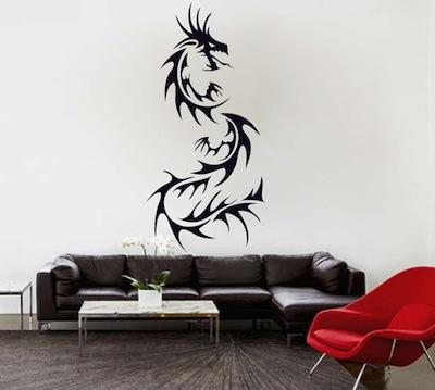 Ordinaire Dragon Wall Decal. Zoom