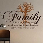 Family Like Branches Wall Decal