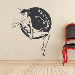 Asian Lounge Wall Decal