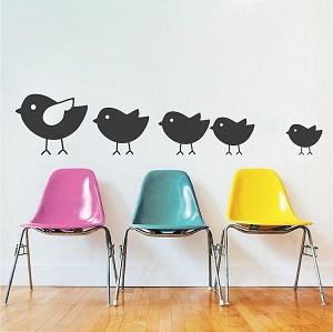 Cute Chick Decal Stickers