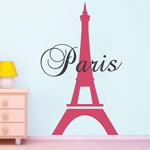 Paris Eiffel Tower Decal