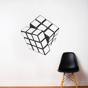 Rubik Cube Vinyl Wall Decal