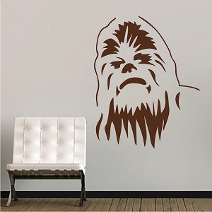 Chewbacca Wall Decal Decor