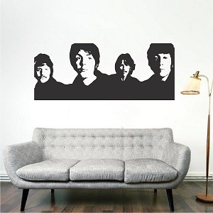 The Beatles Wall Decor Decals