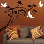 Lollipop Tree Wall Decal