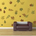 Autumn Leaves Wall Art Design