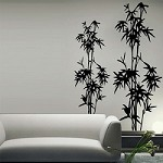 Bamboo Tree Wall Decal
