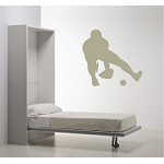 Baseball Fielder Wall Applique