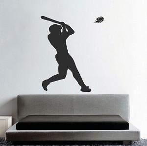 Baseball Home Run Wall Decal