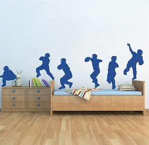 Baseball Catchers Wall Decal