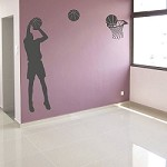 Shooting Hoops Wall Appliqué