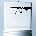 Hello Visitor Sticker Decal