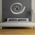 Cinnamon Swirl Clock Decal