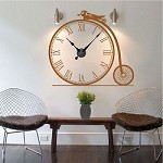 Antique Bike Clock Decal