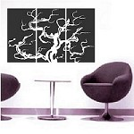 Bonsai Panel Wall Art Design