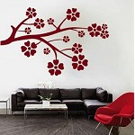 Flower Branch Wall Pop