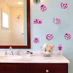 Lady Bug Wall Decals