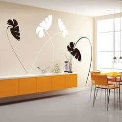 Leafy Stems Wall Decals