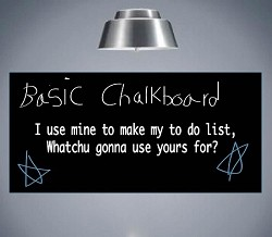 Basic Chalkboard Decals