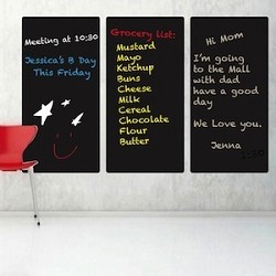 Rectangle Chalkboard Decals
