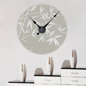 Bamboo Sphere Clock Decal