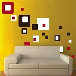 Contemporary Square Wall Decals