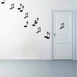 Music Note Wall Decals