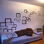 Over 70 Rectangles & Squares Wall Decals