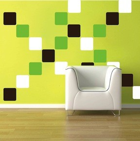 Equal Squares Wall Decals