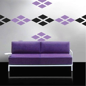 Diamond Wall Decals