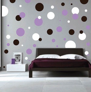 polka dots wall decals - Wall Art Design Decals